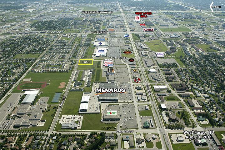 Menards West Fargo Nd Lot 1